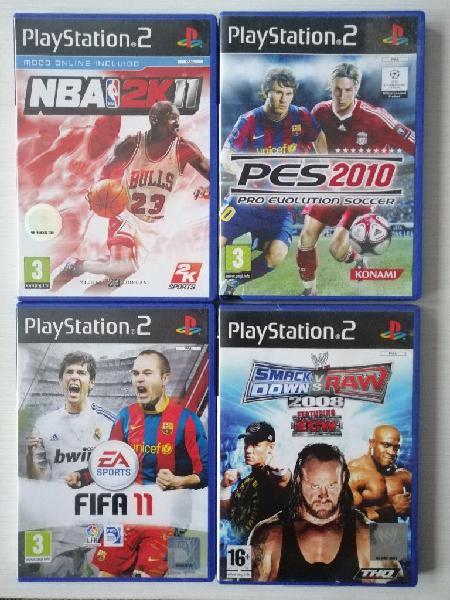Juegos playstation 2, nuevos, sin uso