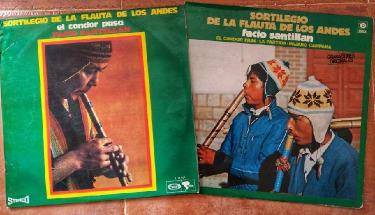 "Lps de vinilo (12"") de música andina"