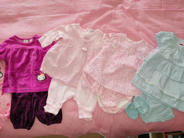 Lote ropa bebé niña 2-4meses