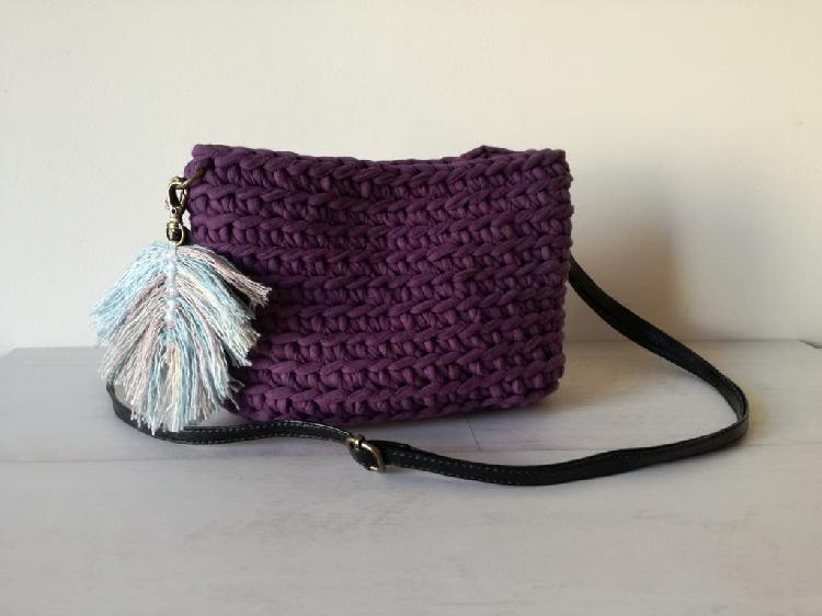 Novedad - bolso morado/violeta nuevo