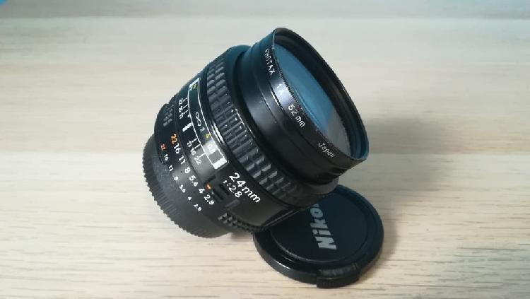 Objetivo nikon af 24 mm 2.8