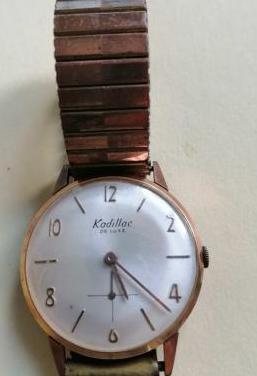 Precioso reloj kadillac de luxe con correa origina
