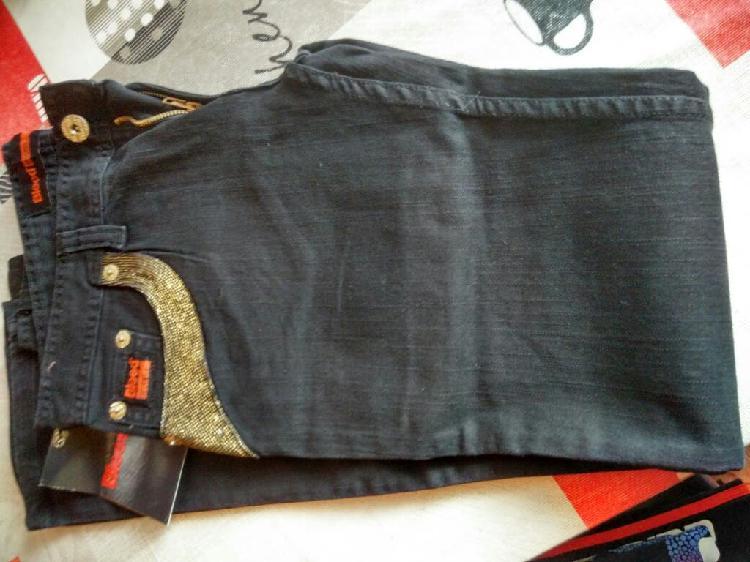 Pantalón vaquero nuevo negro