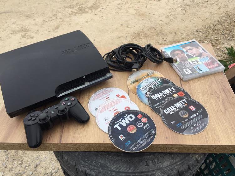 Play station 3 completa más juegos