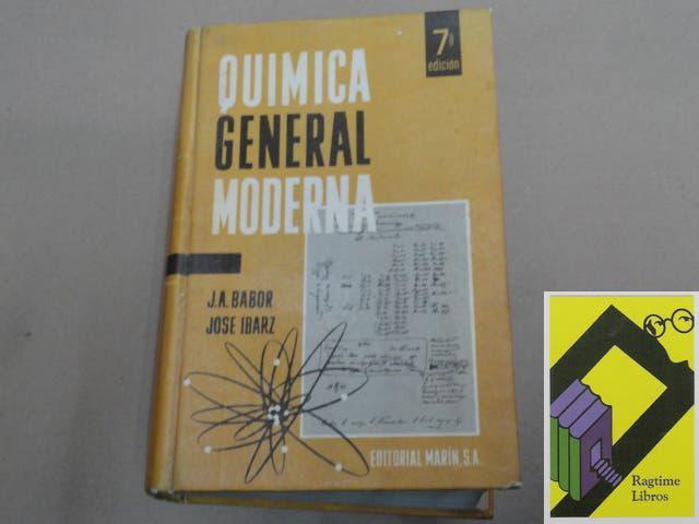 Química general moderna.