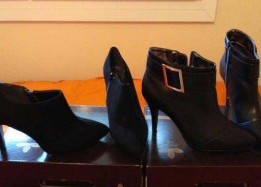 Regalo bolso: botines mujer/2 pares