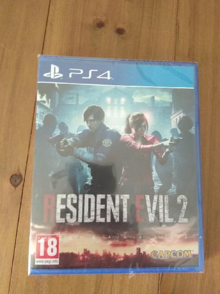 Resident evil 2 remake ps4 nuevo y precintado pal