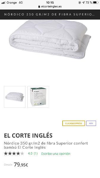 Ropa de cama 1,05 + 16 perchas madera
