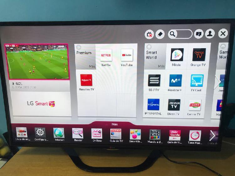 Televisión lg smart tv de 47 pulgadas.