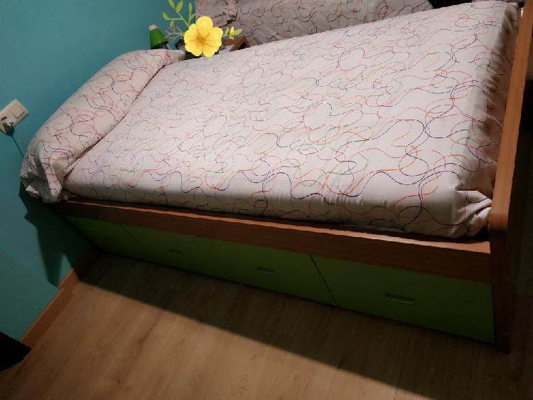 Urge cama y colchón de 90 cm