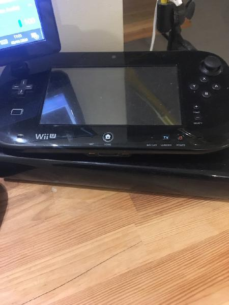 Wii u 32 gb black con extras