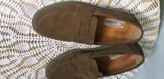 Zapatos de ante marron (nº 40), marca ermen