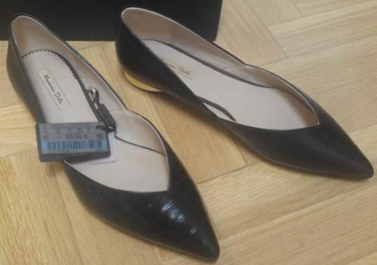 Zapatos planos mujer massimo dutti.