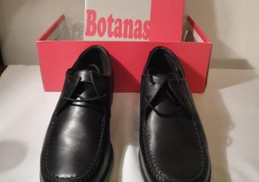 Zapatos vestir piel, negros, nº 36. nuevos.