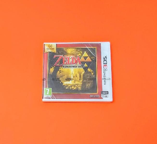 Zelda: a link between worlds precintado / n3ds