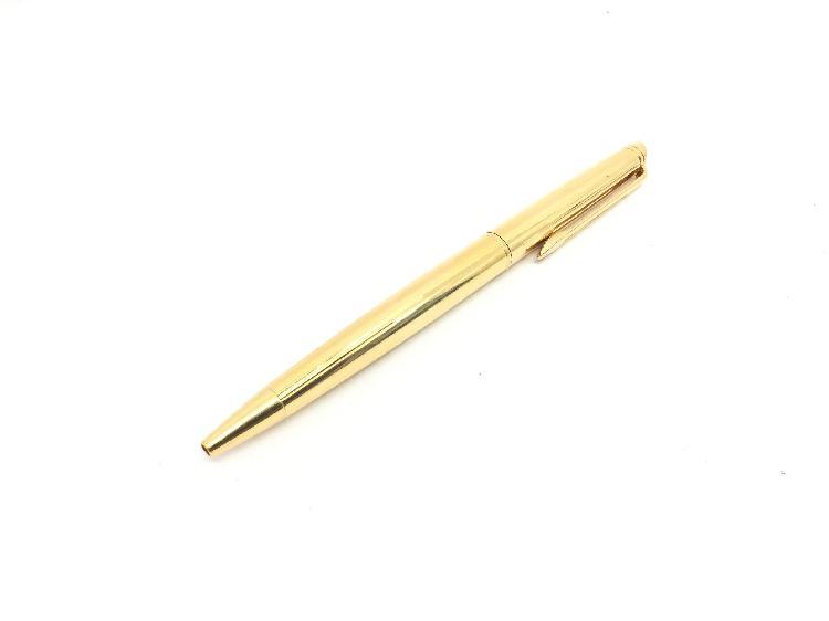 Boligrafo waterman dorado
