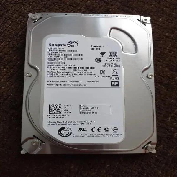 """disco duro hdd seagate 500gb 3.5"""""""