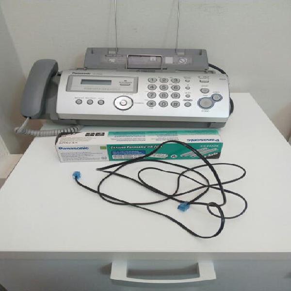 Fax teléfono + recambio tinta