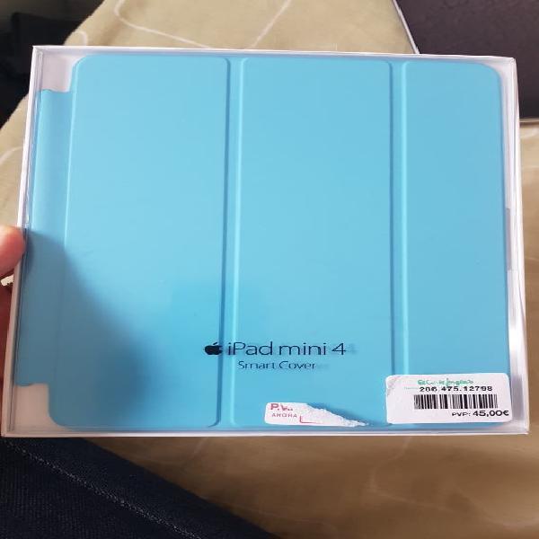 Funda ipad mini 4 y 5 apple azul