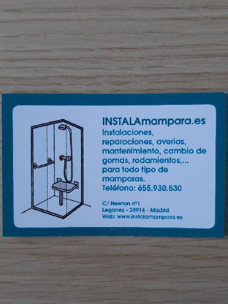 Instaladores de mamparas ducha