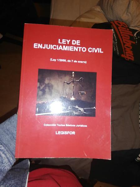 Ley de enjuiciamiento civil(ley 1/2000, 7 enero