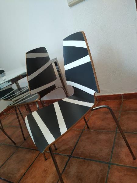 Mesa de diseño de salón