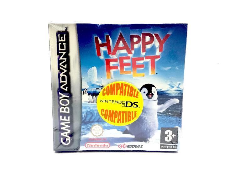 Objetos insolitos gameboy advance happy feet