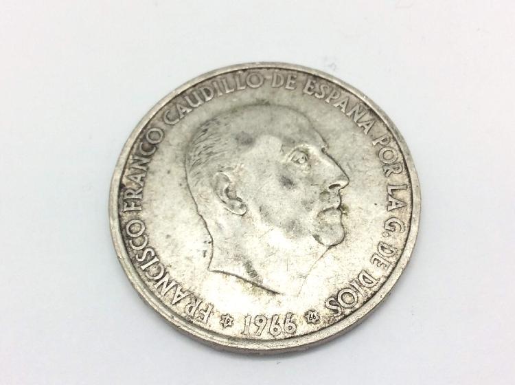 Objetos insolitos plata moneda 100 ptas francisco franco