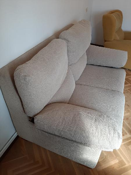 Sofá dos plazas y sillón reclinable