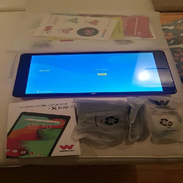 "Tablet woxter x100v3 nueva a estrenar 10 1"" 4k"
