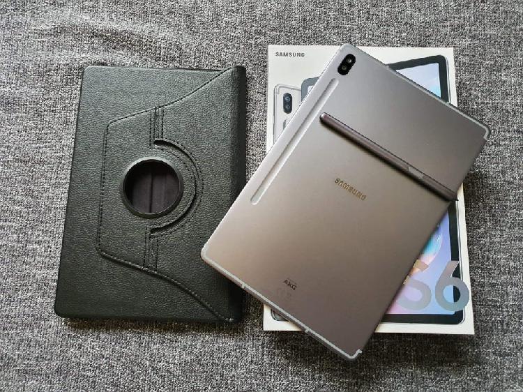 Tablet samsung galaxy tab s6 lte de 128 gb nueva