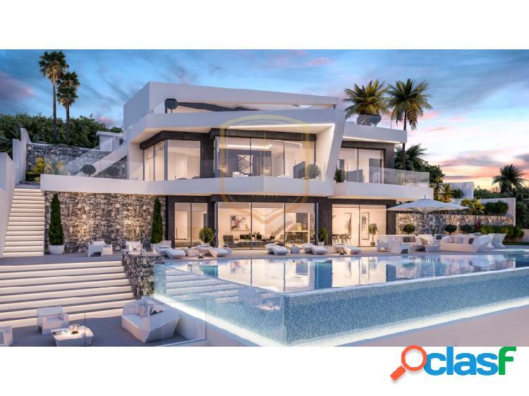 Nuevo proyecto, lujosa villa moderna