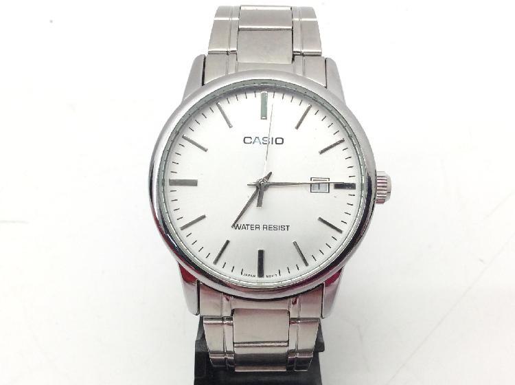 14 % reloj pulsera unisex casio mtp-v002