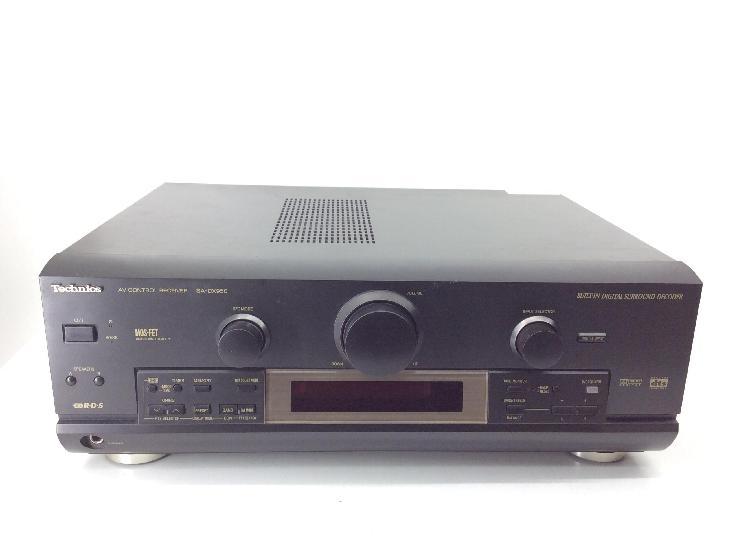 15 % amplificador home cinema technics sa-dx950