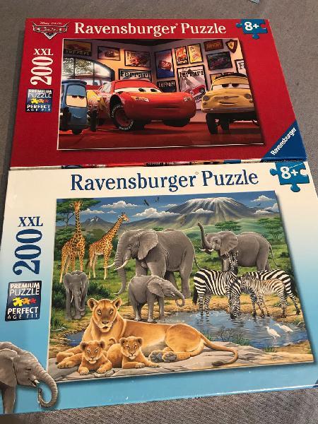 2 puzzles de 200 xxl