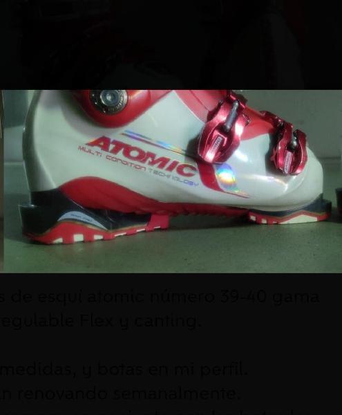 Botas de esquí atomic núm. 39-40