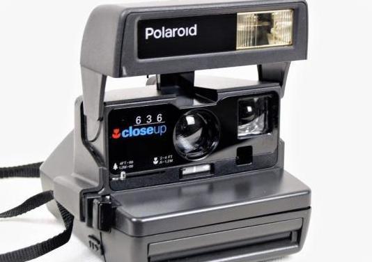Camara polaroid 636 close up