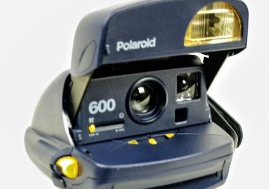 Camara polaroid 600 azul