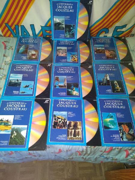 Colección laserdisc el universo de cousteau