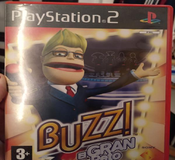 Juego playstation 2 buzz el gran reto sony