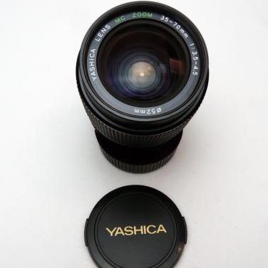 Objetivo yashica 35-70mm f3.5-4.5