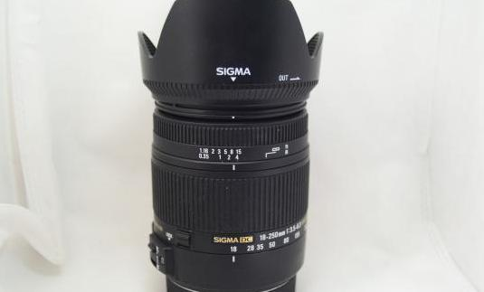 Objetivo canon sigma 18-250mm macro hsm