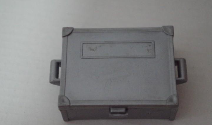 Playmobil caja cofre baul blindado dinero oeste transporte