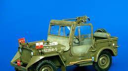 Plusmodel - patton´s jeep conversion set 1/35 243