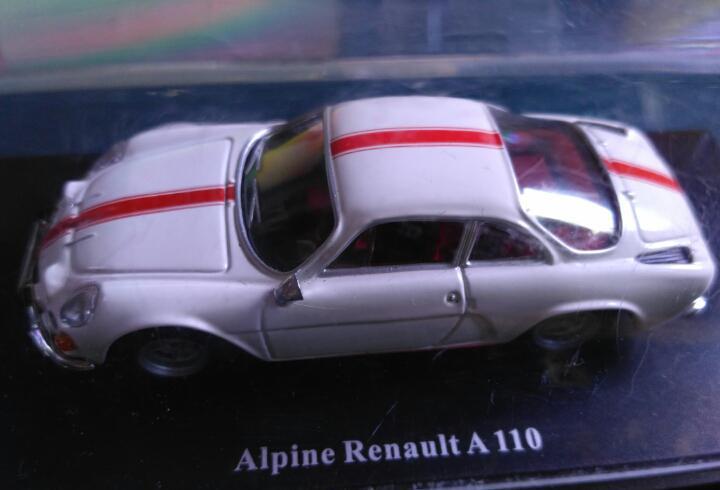 Renault alpine a110 universal hobbies