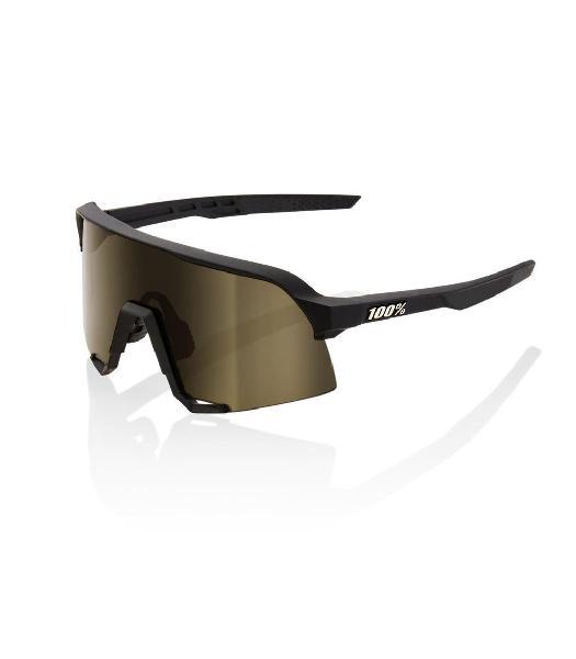 S3 - soft tact black - soft gold lens