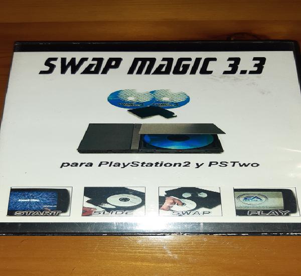 Swap magic,version 3.8,para playstation y pstwo