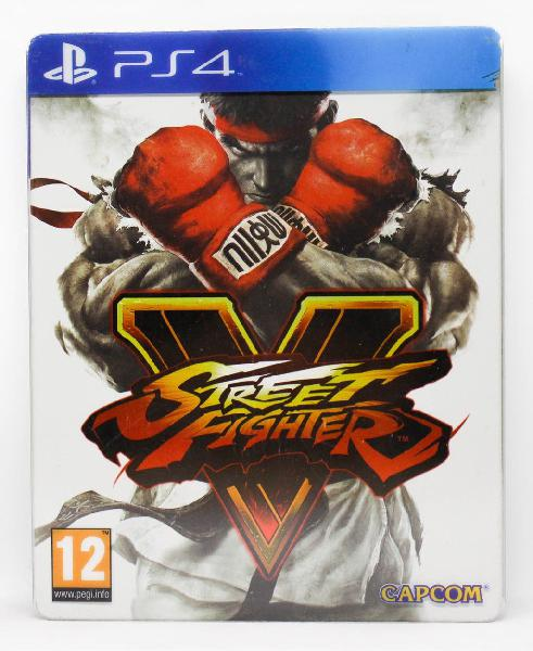 Street fighter v steelbook edition ps4 pal españa
