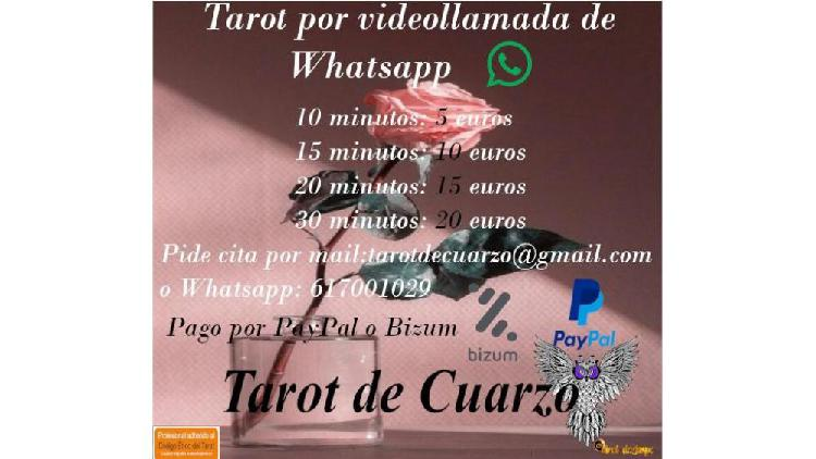 Tarot por videollamada de whatsapp