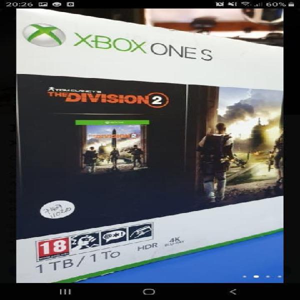Xbox s 1tb segunda mano blanca 1 años de garantía